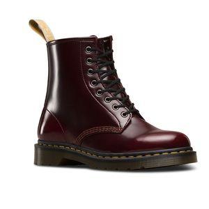 cherry vegan doc marten boots
